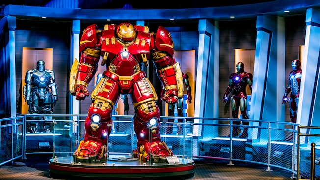 Marvel Universe Attractions Shanghai Disney Resort