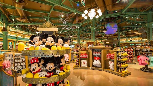 迪士尼世界商店 购物 上海迪士尼度假区 上海迪士尼度假区